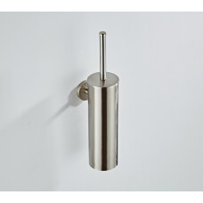Saniclear Exclusive toiletborstel met wandhouder RVS look