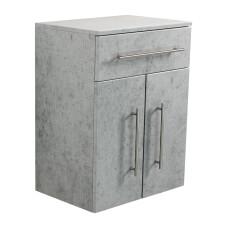Saniclear Extra Kolomkast beton grijs 53x72