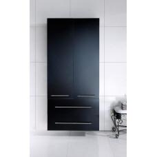 Saniclear Huge Badkamerkast zijdeglans zwart 80x176