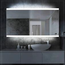 Saniclear Riga LED spiegel 80x70cm met spiegelverwarming