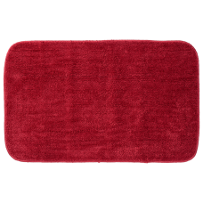 Sealskin Doux badmat rood 80x50cm polyester