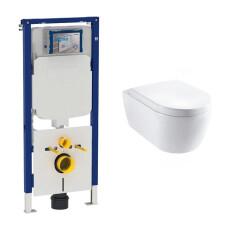 Geberit UP720 toiletset met Lambini Sub Compact en softclose zitting