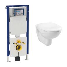 Geberit UP720 toiletset met Plieger Basic toilet en standaard zitting