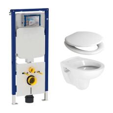 Geberit UP720 toiletset met Plieger Compact toilet en softclose zitting