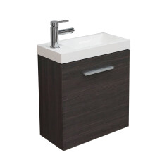 Mueller Emma toiletmeubel 50x50x20 houtnerf grijs