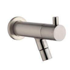 Mueller Round inbouw toiletkraan rvs look