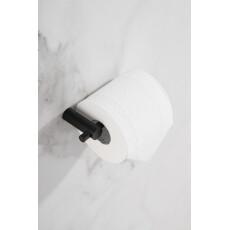 Saniclear Academy toilet rolhouder zwart mat