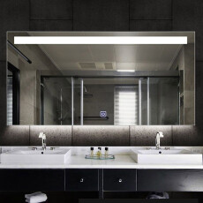 Saniclear Aruba spiegel 80x70cm met LED verlichting en spiegelverwarming