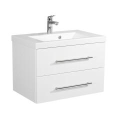 Saniclear Envy badkamermeubel 70cm hoogglans wit