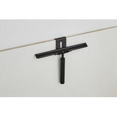 Saniclear Nero badkamer wisser 25cm mat zwart