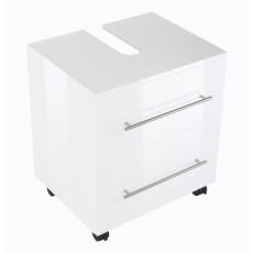 Saniclear Universal badkamer kast op poten 55x41.6x63.6cm wit
