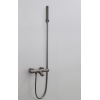 Saniclear Iron thermostatische opbouw badkraan verouderd ijzer / gunmetal