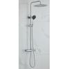 Saniclear Talpa opbouw regendouche chroom 30cm hoofddouche 2 standen handdouche